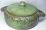 Bean pot with lid.