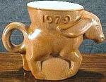 1979 limited edition donkey mug.